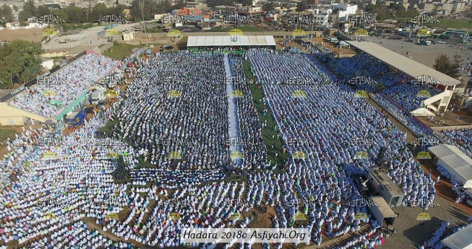 PHOTOS - STADE AMADOU BARRY - Les Images de la Hadratoul Jumma 2018 organisée par Abnâ'u Hadrati Tijaniyati, présidée par Serigne Pape Malick SY
