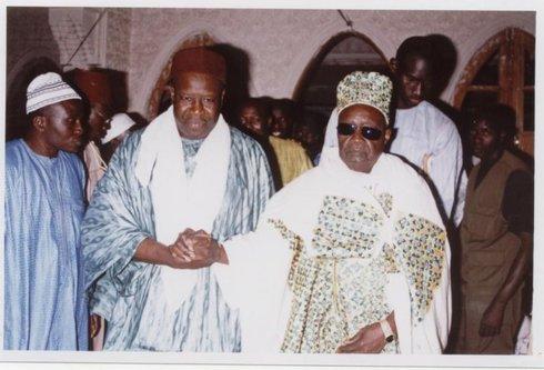 Visite à Fass du Khalife Général des Tidianes Serigne Mansour SY Boroom Daaraji