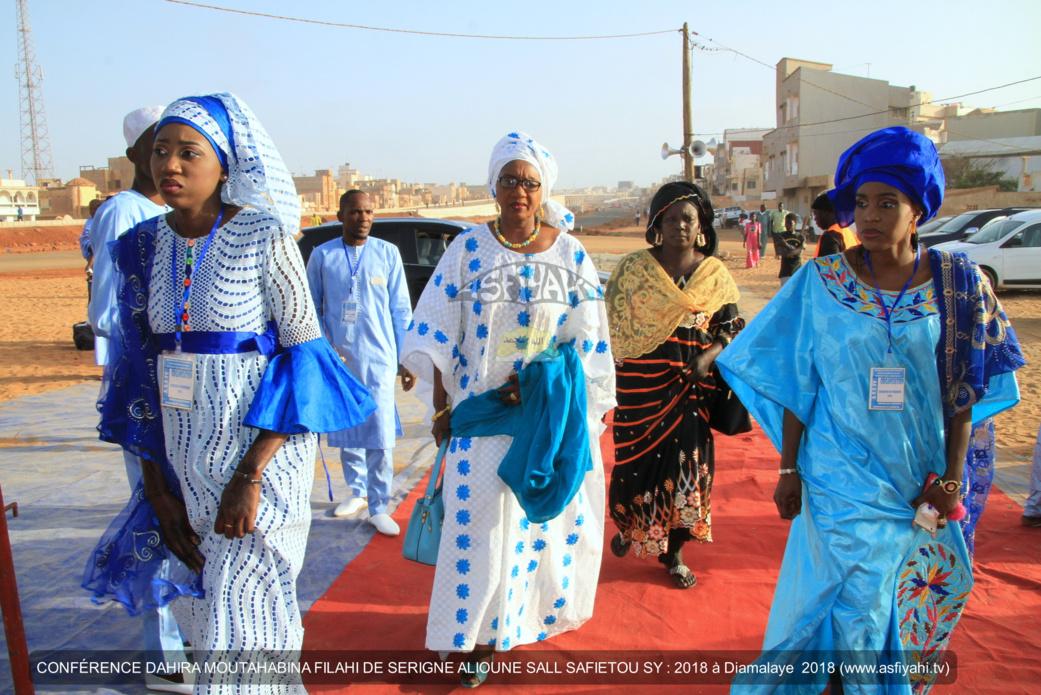 PHOTOS - DIAMALAYE - Les Images de la Conférence 2018 de la Federation des Dahiras Moutahabina Filahi de Serigne Alioune Sall Safietou Sy