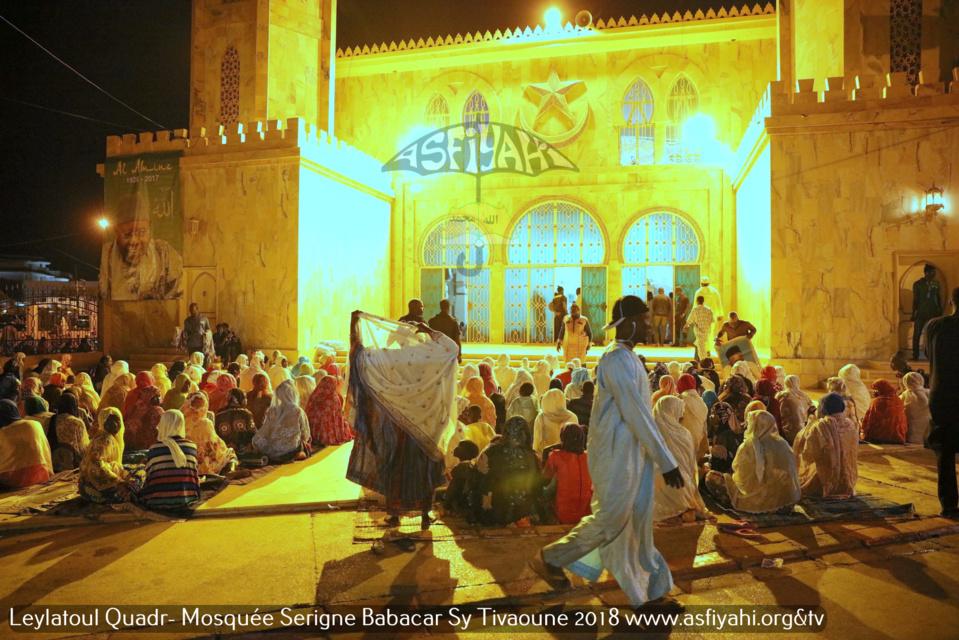 PHOTOS - TIVAOUANE - les Images de la Leylatoul Qadr 2018 à la Mosquée Serigne Babacar Sy sous la presidence de Serigne Pape Malick Sy