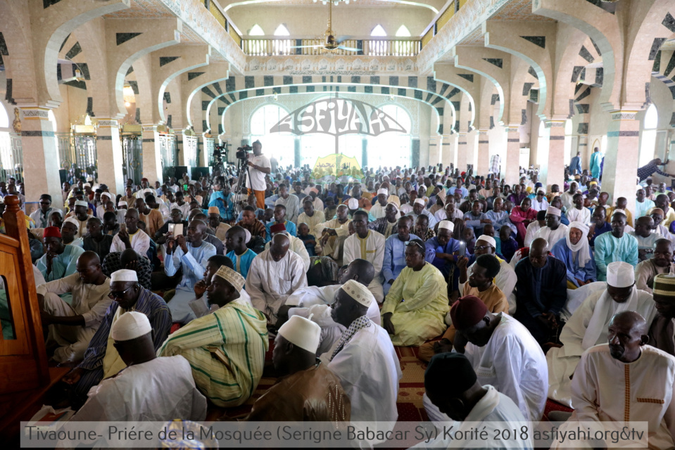 PHOTOS - KORITÉ 2018 À TIVAOUANE - Les Images de la Priere à la Mosquée Khalifa Babacar SY (rta)