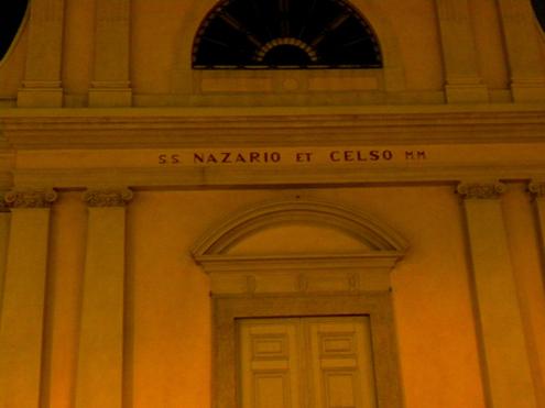 L'église de Saint-Nazario et Celso à Gallarate.