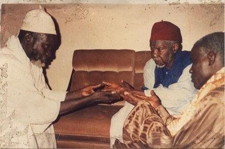 Feu El Hadj Abdoul Aziz  Dabakh le Pèlerin de la Paix et Feu serigne Saliou Mbacké