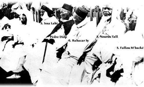 Serigne Babacar Sy, Serigne fallou Mbacké, Seydina Issa Laye ,Thierno Seydou Nourou Tall,L'Unité confrérique pour un Sénégal de fraternité et de Paix,Tous au Service de L'islam