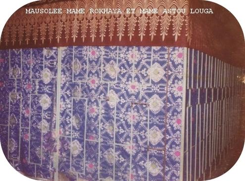 Mausolée de Sokhna Rokhaya Ndiaye et sokhna astou Sy à louga