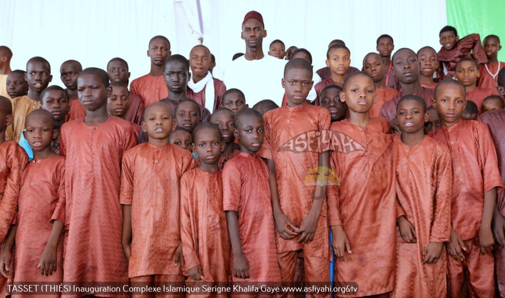 PHOTOS - TASSET (THIES) : Les images de la Cérémonie Officielle Inaugurale du Complexe Islamique Serigne Khalifa Gaye