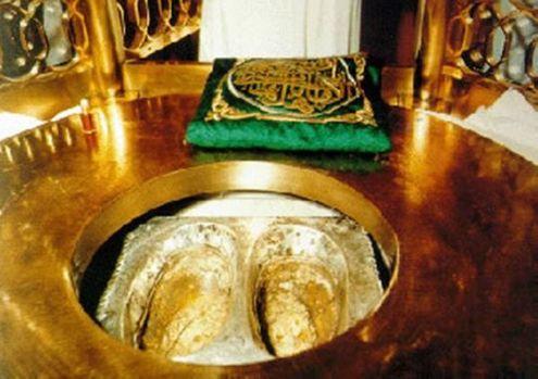 vue intérieure du Makhâm Empreinte de pas du Prophète  Ibrahim (AS)