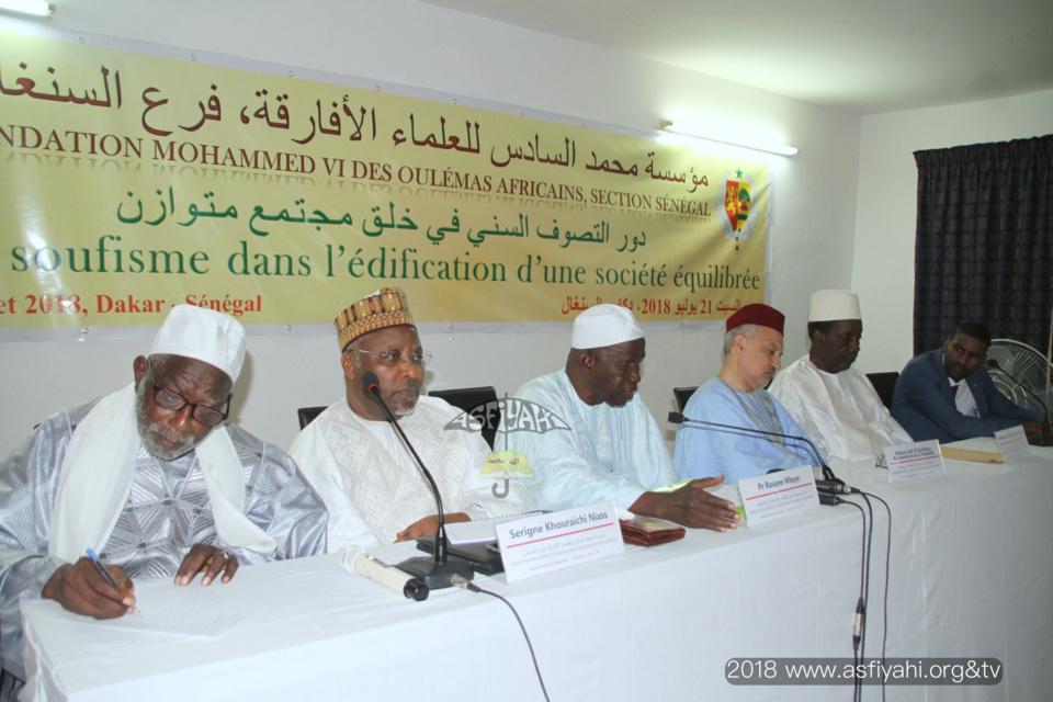 """PHOTOS - Les images du séminaire sur le """"rôle du soufisme dans l'édification d'une société équilibrée, organisé par la section sénégalaise de la Fondation Mouhammed VI des Oulémas africains"""