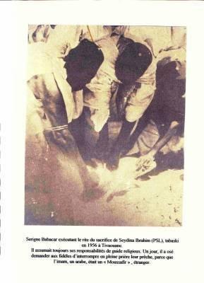 Serigne Babacar Sy(rta) sacrifiant à la tradition du Prophète (PSL)