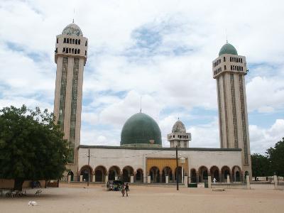 La Grande Mosquée de Médina Baye à Kaolack