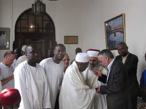Serigne Abdoul Aziz Al Amine aceuilli à la Grande Mosquée de Paris