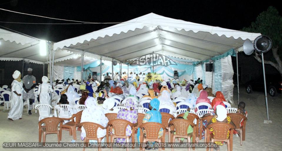 PHOTOS - KEUR MASSAR- Les images de la Conférence du Dahiratoul Hadaratou Tijania 2018 de Oustaz Ayouba Fall