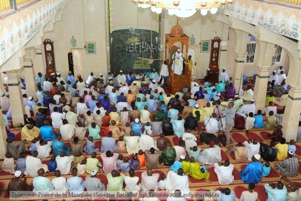 PHOTOS - TABASKI 2018 - Les Images de la Priere à la Mosquée Serigne Babacar Sy (rta)