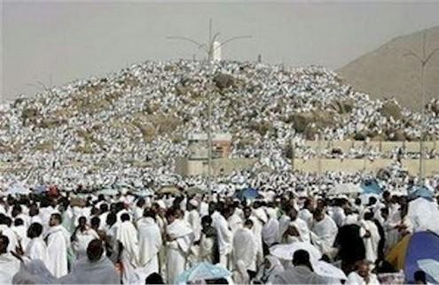 Pèlerinage à la Mecque 2010 :2,5 Millions de Pélerins sur le Mont Arafat