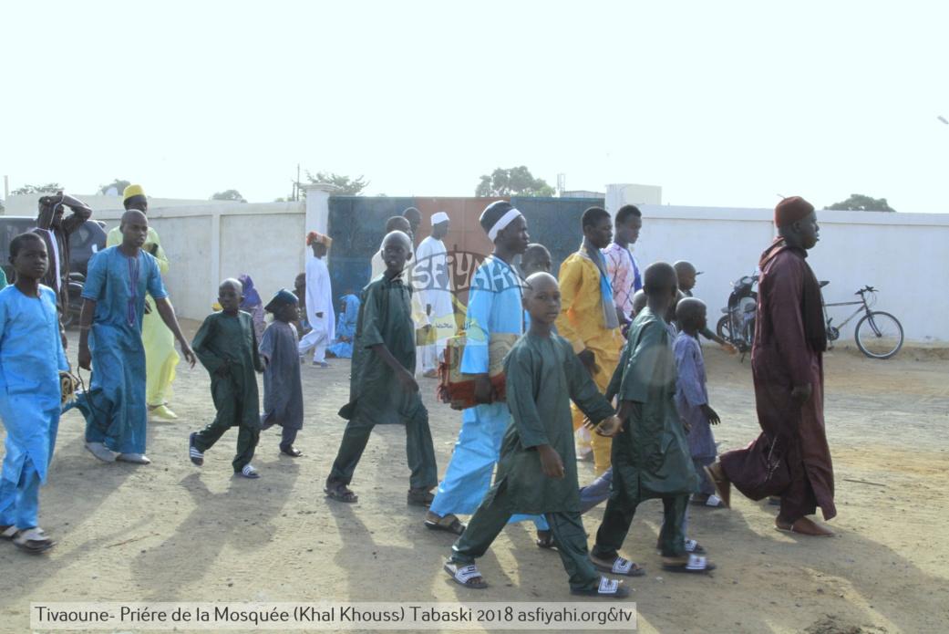 PHOTOS - TABASKI 2018 - Les Images de la Priere à la Mosquée de Khalkhouss en presence du Khalif General des Tidianes Serigne Mbaye SY Mansour