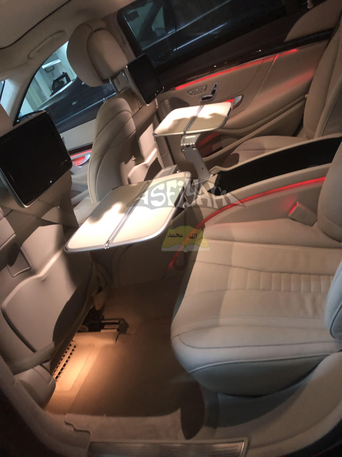 SERIGNE DJAMIL SY MANSOUR HONORE SES PÈRES: Une Mercedes S600 Maybach offerte à Serigne Mbaye Sy Mansour, une S420 à Serigne Sidy Ahmed Sy Babacar