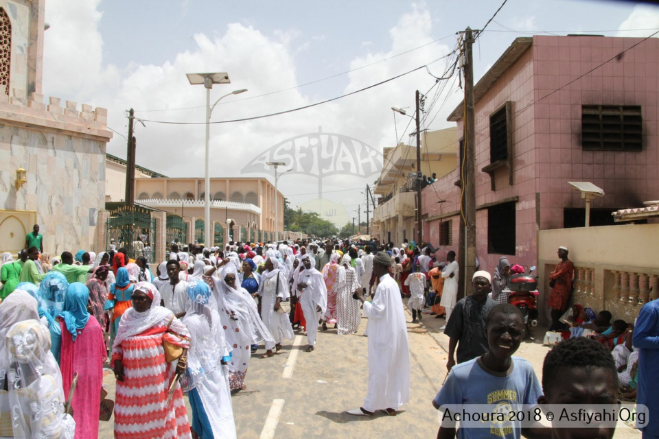PHOTOS - TIVAOUANE - les Images de la Ziarra Achoura 2018, organisée par le Dahiratoul Mouqtafina, sous la presidence de Serigne Pape Malick Sy