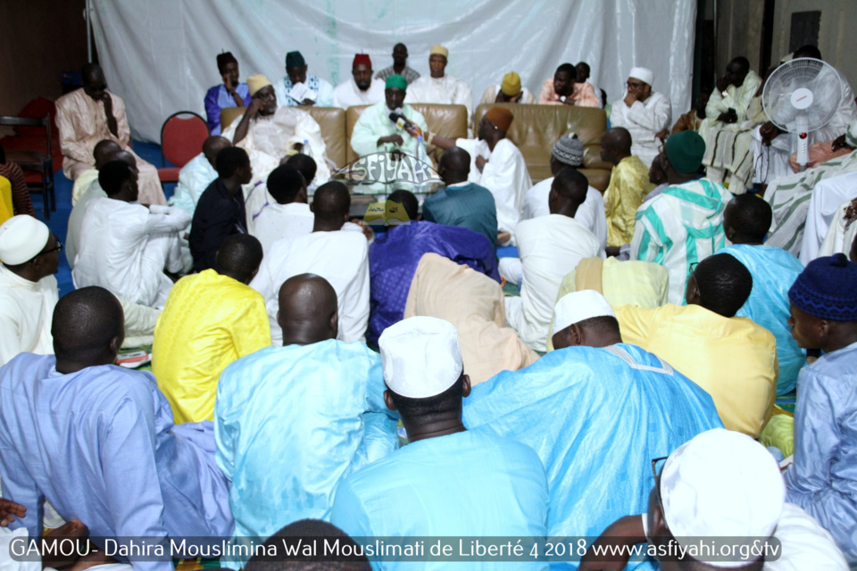 """PHOTOS - Les Images du Gamou 2018 de la Dahira Mouslimina Wal Mouslimati """"Junior"""" de Libérté 4, présidé par Serigne Habib Sy Ibn Serigne Mbaye Sy Mansour"""