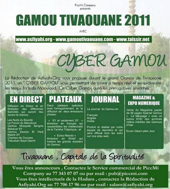 Gamou Tivaouane 2011 sur le Web