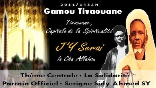 Gamou de Tivaouane : Le Programme des Bourdes de Quartier  2011
