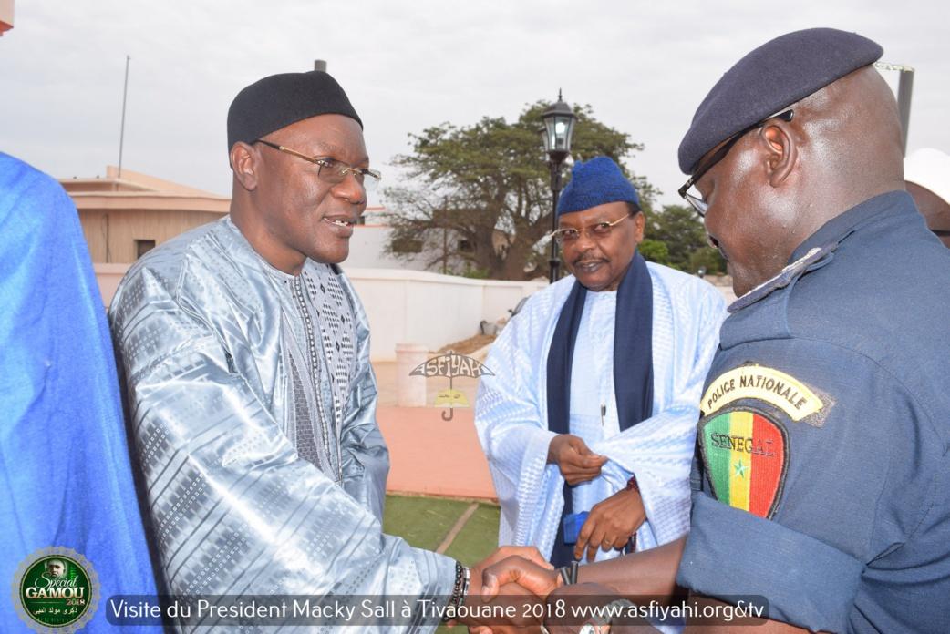 PHOTOS - Gamou 2018 - La Visite du President Macky Sall à Tivaouane