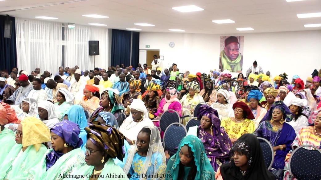 PHOTO - ALLEMAGNE - Les Images du  Gamou du Dahiratoul  Ahibahi Seydi Djamil édition 2018 présidé par Serigne Mansour SY Djamil