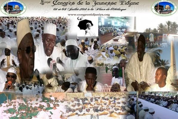 CONGRES DE LA JEUNESSE TIDJANIYYA DU CAP VERT : A  l'appel du 01, 02 et 03 Juillet  2011 à la place de l'Obelisque