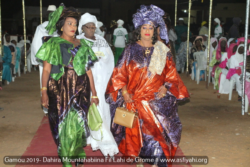 PHOTOS - GOROM 1 - Les Images du Gamou 2019 du Dahiratoul Moutahabina Filahi de Grome 1, présidé par Serigne Habib Sy Mansour