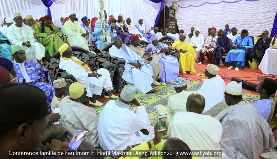 PHOTOS - Les images de la Conférence famille Feu Imam El Hadji Makhtar Dieng, Édition 2019
