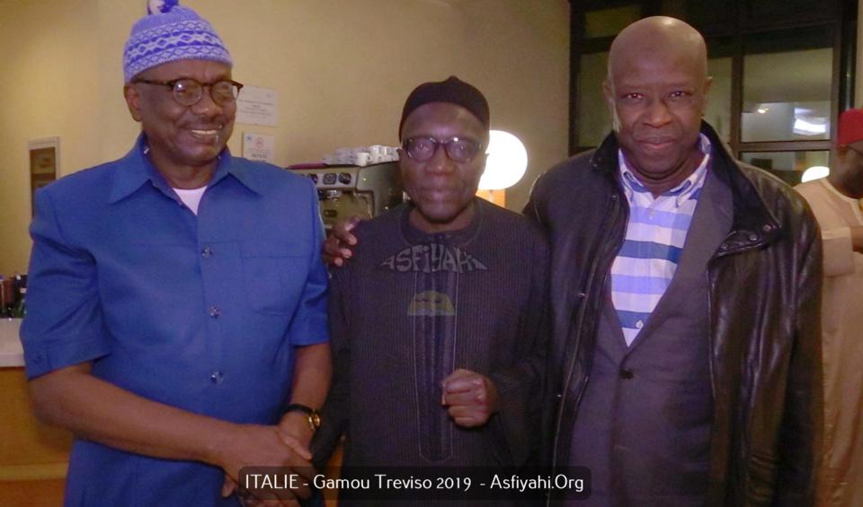 PHOTOS - ITALIE - GAMOU TREVISO 2019 - Les Images de l'arrivée de la famille de El Hadj Malick Sy (rta) à Treviso