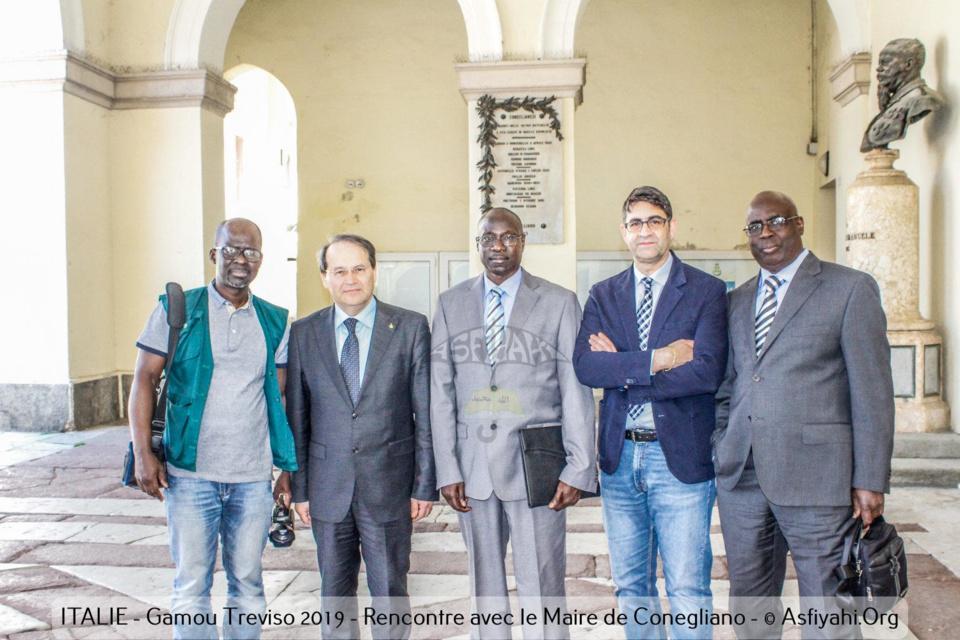 PHOTOS - ITALIE - GAMOU TREVISO 2019 - Les Images de la visite de Serigne Mansour Sy Djamil à la Mairie de Conegliano