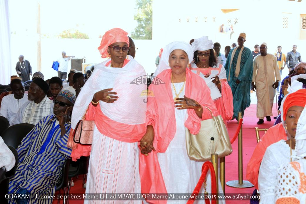 PHOTOS - OUAKAM - Les Images de la Cérémonie de de Clôture de la Journée de prières des familles Mame El Had MBAYE DIOP, Mame Alioune WANE 2019, présidée par Serigne Babacar SY Mansour, Khalif General des Tidianes