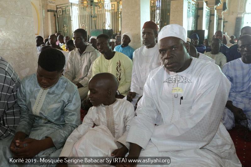 PHOTOS - KORITE 2019 À TIVAOUANE - Les Images de la Priére de L'Eid El Fitr à la Mosquée Serigne Babacar SY (rta) dirigée par Imam Moussa DIop