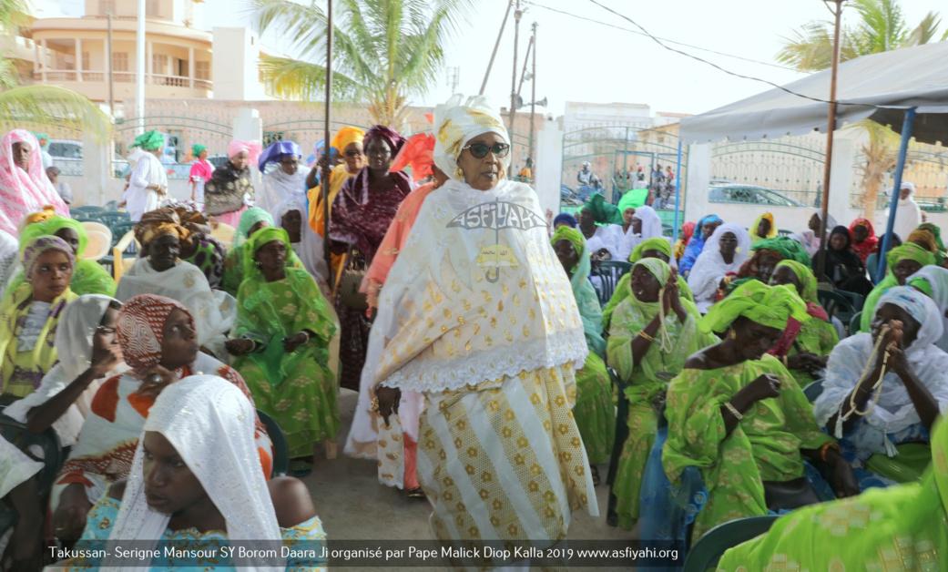 PHOTOS - TIVAOUANE - Les Images du Takussan Serigne Mansour SY Borom Daara Ji, édition 2019, organisé par Pape Malick Diop Kalla