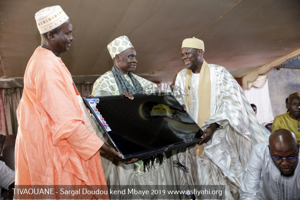 PHOTOS - TIVAOUANE - Les Images du Sargal Doudou Kend Mbaye, edition 2019, présidé par Serigne Mame Malick SY Mansour