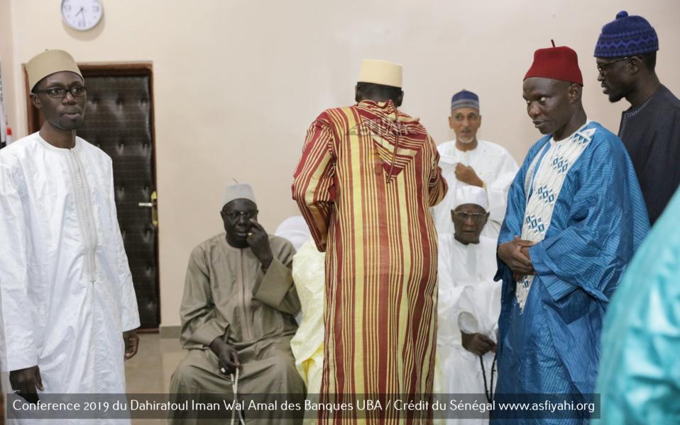 PHOTOS - Les Images de la Conference annuelle 2019 du Dahiratoul Iman Wal Amal des Banques UBA / Crédit du Sénégal