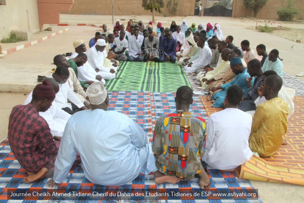 PHOTOS - Les Images de la Journée Cheikh Ahmed Tidiane Cherif (rta) organisée par la Dahira des Etudiants Tidianes de L'ESP, présidée par Serigne Habib Sy Babacar