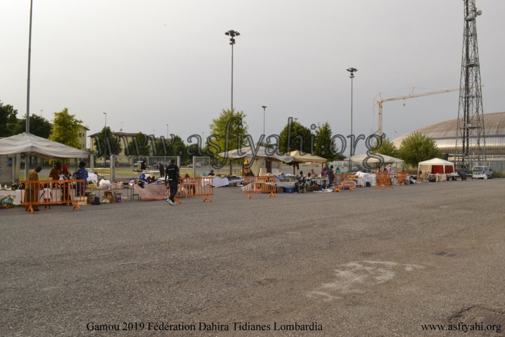 ITALIE- Les Images du Gamou de la Fédération des Dahiras Tidianes de la Lombardia (Bergamo-Brescia-Milan) ce Samedi 06 Juillet 2019 à MONTICHIARI (BRESCIA)