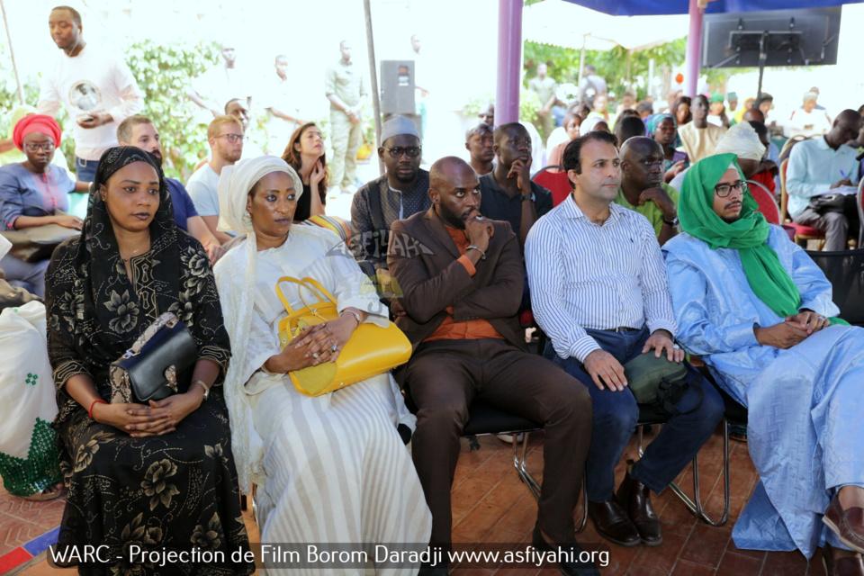 PHOTOS - Les Images de la Projection au WARC du Film sur Borom Daradji réalisé par Serigne Cheikh Oumar Sy Djamil