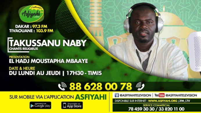 TAKUSSANU NABY par Elhadji Moustapha Mbaye