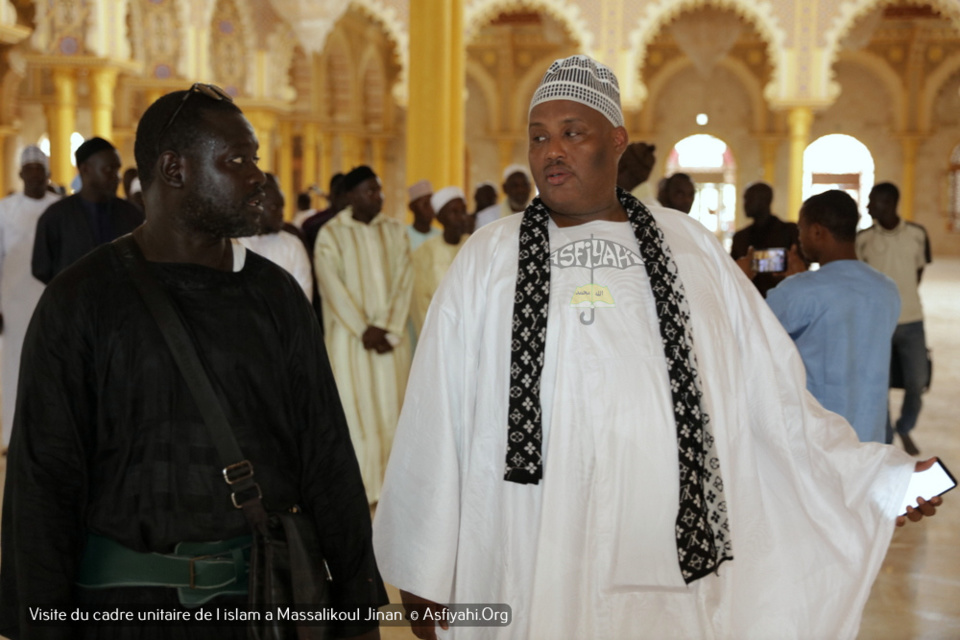 PHOTOS - Visite du Cadre Unitaire de l'islam à la Grande Mosquée Massalikoul Jinaan. L'histoire de la belle cohabitation religieuse du Sénégal.magnifiée