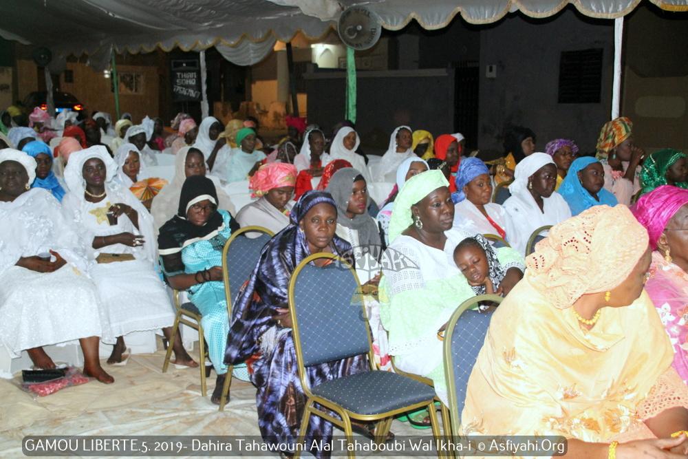 PHOTOS - LIBERTE 5 -  Les images du Gamou du Dahiratoul Tahawouni Alal Tahaboubi Wal Ikha-i, présidé par Serigne Cheikh Tidiane Sy Ibn Serigne Maodo Sy Dabakh