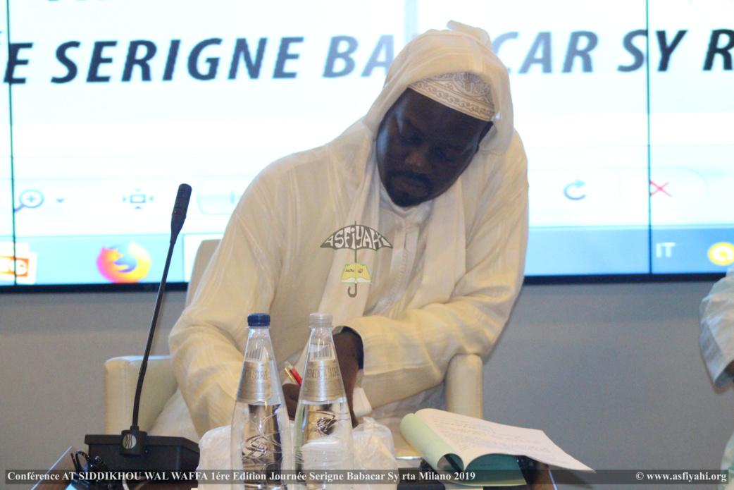 PHOTO - ITALIE - MILAN : Les Images de la Journée Serigne Babacar Sy rta à Milano présidée par Serigne Moustapha Sy Abdou et animée par El hadji Doudou Kend Mbaye