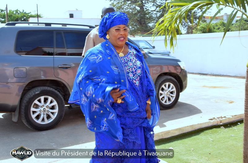 PHOTOS - MAWLID 2019 - Accueil du President Macky Sall à Tivaouane par le Khalif General des TIdianes et la famille de Seydil Hadj Malick SY