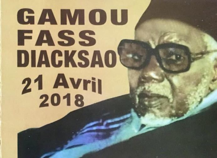 Le Gamou de Diacksao sera célébré les Vendredi 29 et Samedi 30 Avril 2016