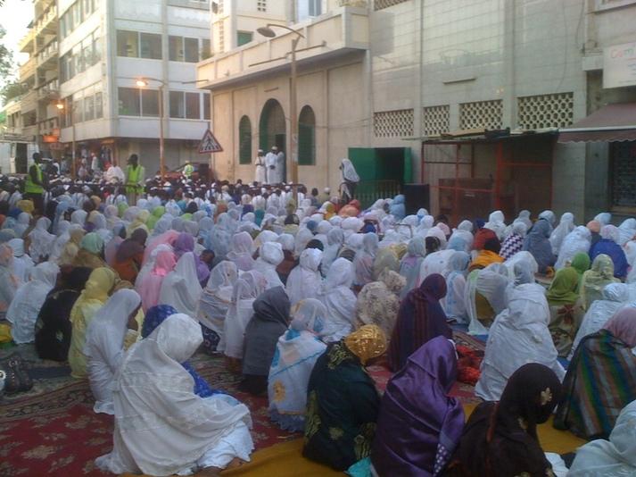 PHOTOS - Prières pour des Elections calmes et apaisées à la Zawiya El hadj Malick Sy de Dakar