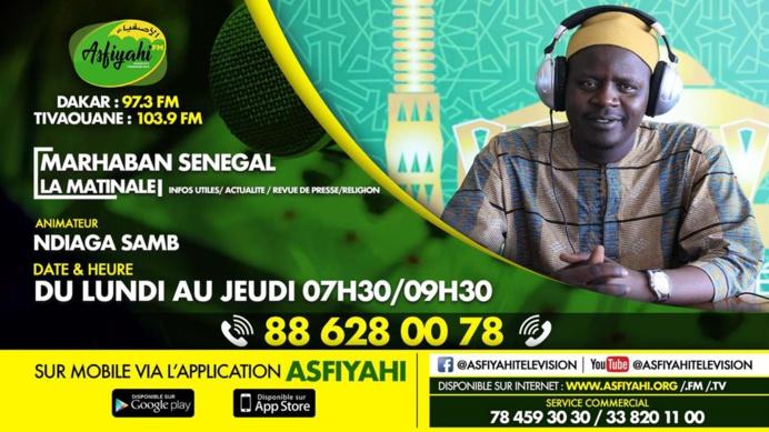 MARHABAN SENEGAL du 13  DECEMBRE 2019 Animée par Oustaz NDIAGA SAMB
