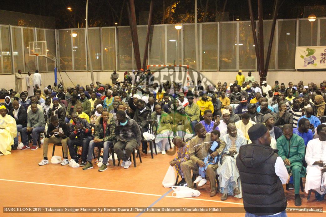 PHOTO - ESPAGNE - BARCELONE : Les Images du Takoussan Serigne Mansour Sy Borom Daara Ji prèsidé par Serigne Habib Sy Mansour et animé par El Hadji Sam Mboup