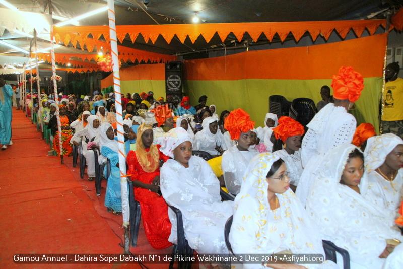 PHOTOS - PIKINE - Les Images du Gamou Annuel Dahira Sope Dabakh N°1 de Pikine Wakhinane 2, 14 Decembre 2019