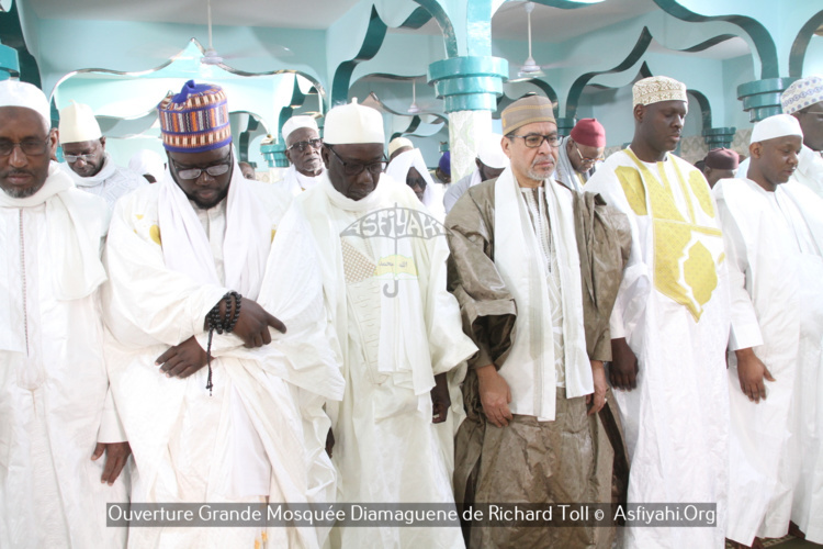 PHOTOS - RICHARD OLL - Les Images de l'ouverture de la grande mosquée de Diamagueune, Gamou et Hadratoul Djumah